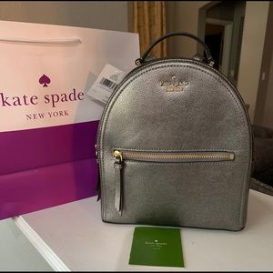 NWT Authentic Kate Spade Sammi Leather Backpack